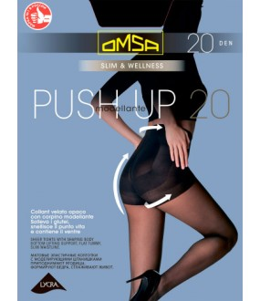 Тонкие колготки Omsa Push up 20