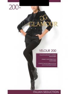 Теплые матовые колготки Glamour VELOUR 200