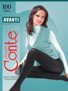 Теплые колготки Conte elegant Avanti 100
