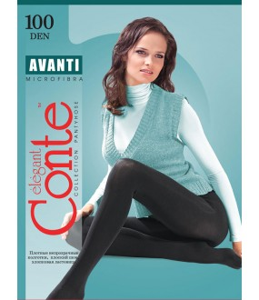 Теплые колготки Conte elegant Avanti 100 xl