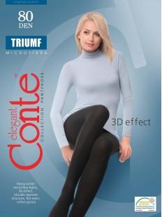 Теплые колготки Conte elegant Triumf 80