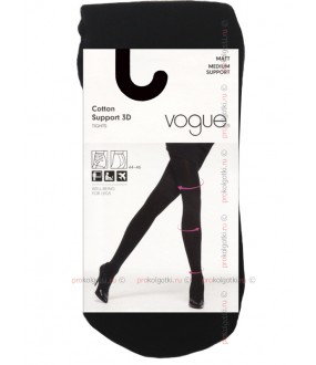 Колготки Vogue Art. 95585 Cotton Support 3D