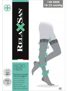 Компрессионные чулки Relaxsan Stay-up 140 Micro