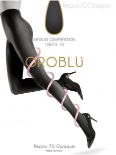 Матовые компрессионные колготки Oroblu REPOS 70 opaque