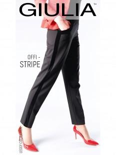 Женские брюки леггинсы в офисном стиле прямого кроя