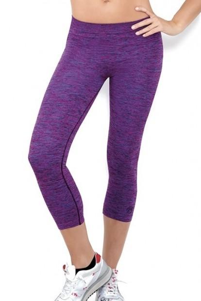 Спортивные женские легинсы капри 7/8 с мягким эластичным поясом Active fit Donna leggings 7-8 space 3