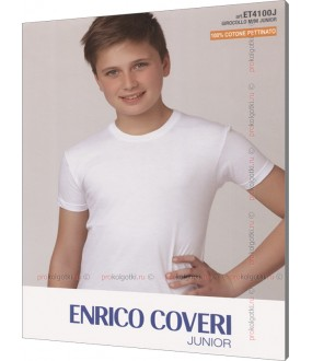 Футболка Enrico Coveri Et4100 Junior Mezza Manica Girocollo
