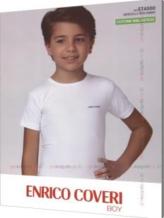 Футболка Enrico Coveri Et4000 Boy Mezza Manica Girocollo