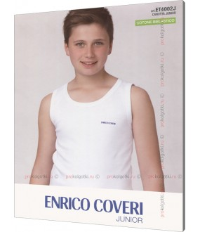 Майка детская Enrico Coveri Et4002 Junior Canotta