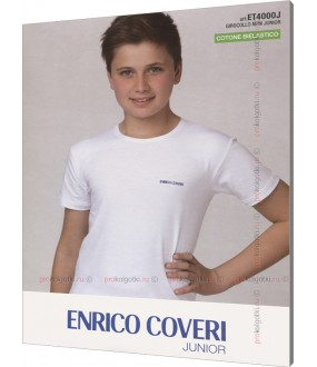 Футболка Enrico Coveri Et4000 Junior Mezza Manica Girocollo