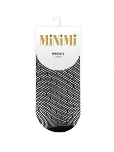 Эластичные женские носочки в сетку с точками