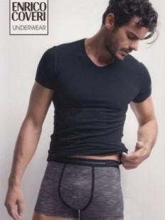 Комплект нижнего мужского белья - хлопковая футболка и трусы боксеры