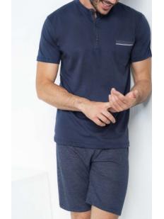 Летний мужской домашний комплект с шортами и футболкой
