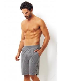 Домашние мужские шорты из хлопка с боковыми карманами