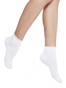 Короткие хлопковые женские носки с мягкой резинкой