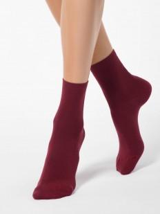 Цветные всесезонные женские носки из микромодала