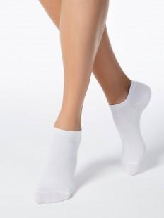 Укороченные ультратонкие женские носки из хлопка