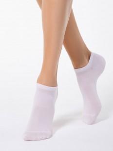 Короткие женские носки из однотонного тенсела
