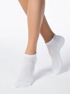 Короткие женские носки с махровой стопой и дышащей верхней стороной