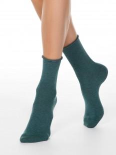 Классические женские носки из хлопка без резинки