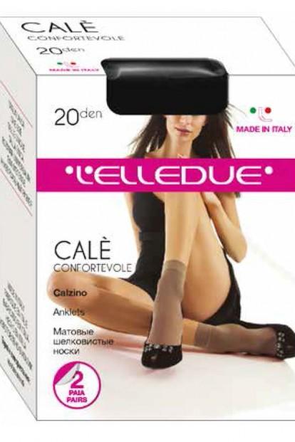 Капроновые женские носки (2 пары) Elledue CALE 20 calzino - фото 1