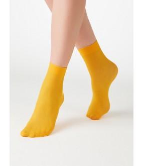 Женские цветные носочки из микрофибры 50 den