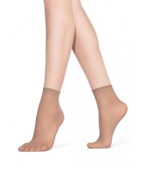 Женские капроновые носочки 20 DEN (2 пары)