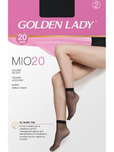 Женские карпоновые носки (2 пары) Golden Lady MIO 20