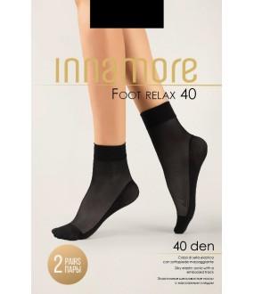 Женские прозрачные носки Innamore Foot relax 40
