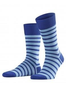 Хлопковые мужские цветные носки в полоску