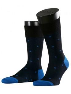 Хлопковые мужские цветные носки в горошек