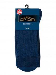 Классические мужские цветные носки из хлопка в рубчик с комфортной посадкой