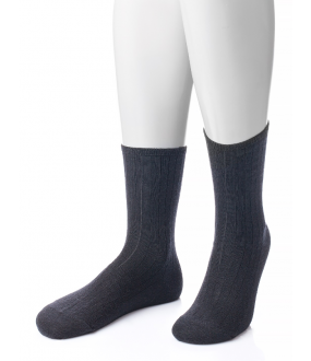 Мужские медицинские носки из шерсти без резинки