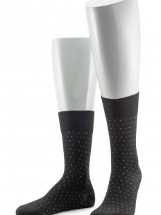Премиальные мужские носки из мерсеризованного хлопка в цветную точку