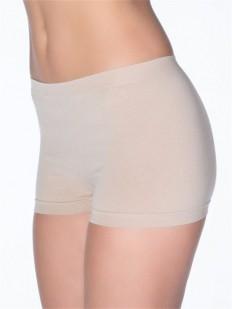 Хлопковые женские трусики шорты с бесшовной конструкцией