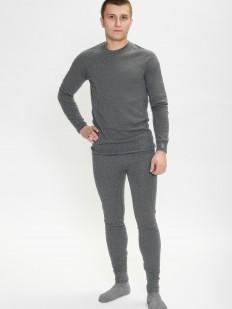 Мужской хлопковый термо комплект белья
