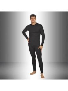 Мужской термо комплект белья с шерстью и двухслойной структурой