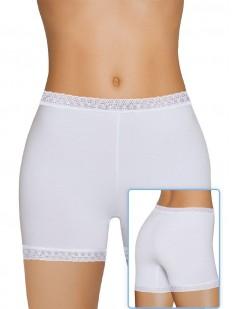 Женские трусы панталоны из хлопка с кружевной отделкой