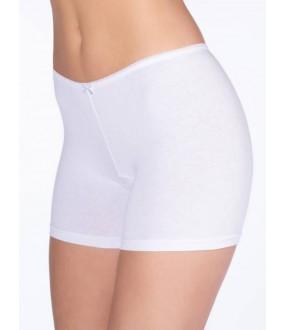 Женские укороченные трусы панталоны из хлопка с классической посадкой