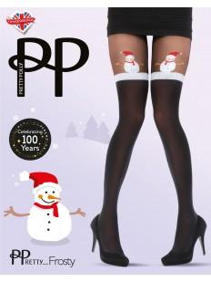 Новогодние колготки Pretty Polly Christmas AWC9