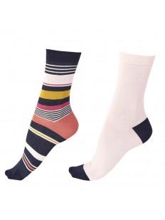 Женские бамбуковые носки в наборе: 2 пары разных цветов