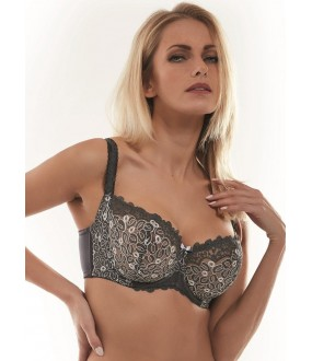 Бюстгальтер Kris Line BETTY GREY halfcupsoft