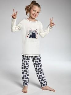 Детская хлопковая пижама для девочек