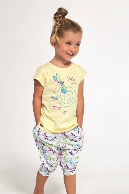 Детская пижама для девочек со стреокозой Cornette 251 - фото 1