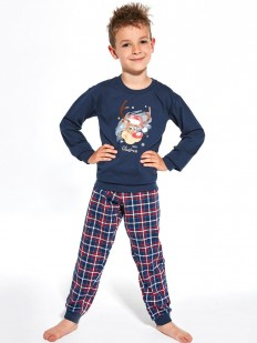 Пижама со штанами для мальчиков с рождественским принтом
