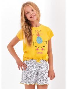 Детская хлопковая пижама для девочек Taro 2388/2389 KLARA