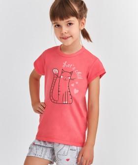 Детская хлопковая пижама для девочек Taro 2200/2201 HANIA