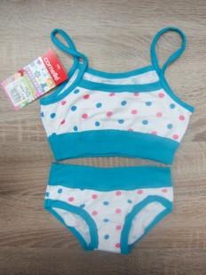 Цветной комплект белья для девочек Cornette 838/839