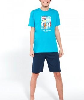Подростковая пижама для мальчиков с серферским принтом