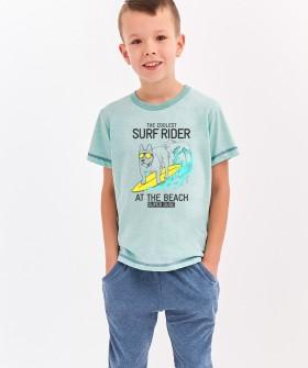 Детская хлопковая пижама для мальчиков Taro 2215/2216 ALAN